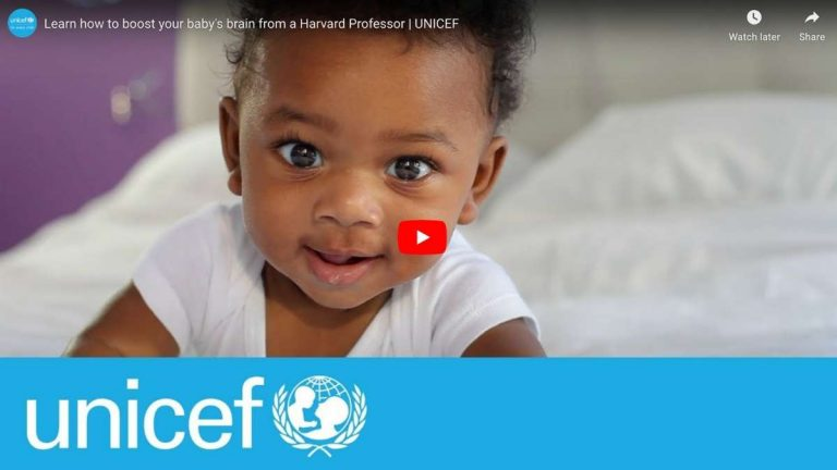 UNICEF Mini Parenting Class video about the power of play for your baby's brain development.