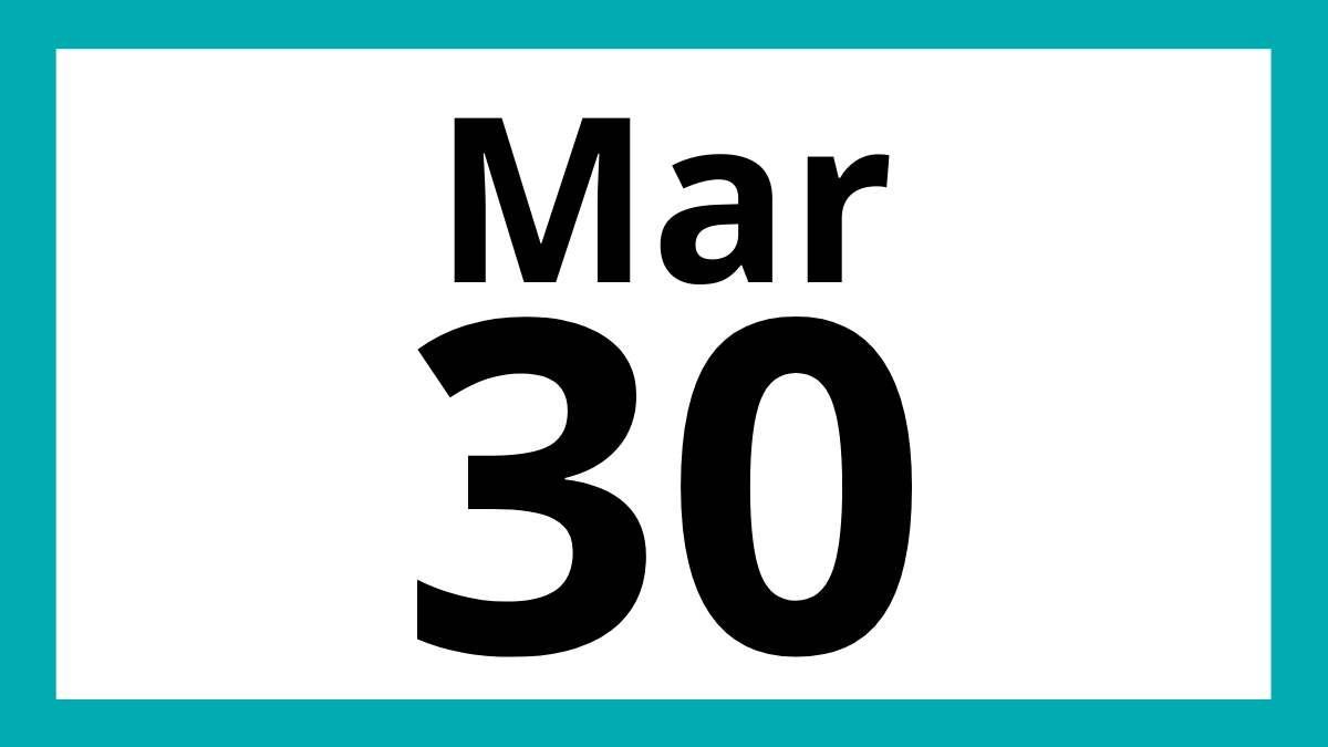 Mar 30