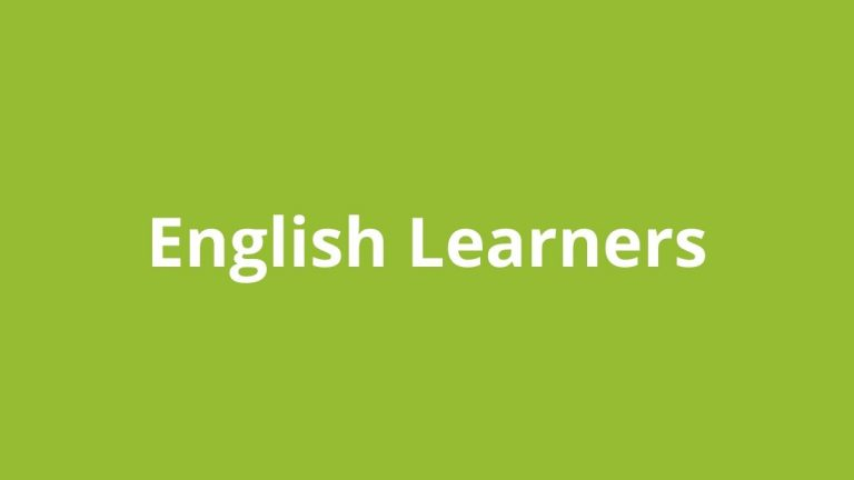 Topic title text: English Learners