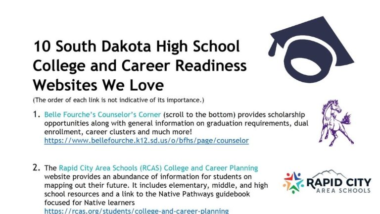Image of 10 South Dakota HS College and Career Readiness Websites We Love document