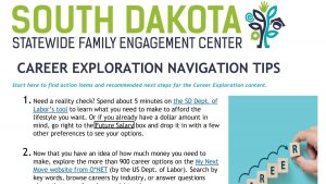 Image of Career Exploration Navigation Tips document