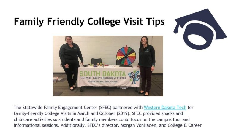 Image of Family Friendly College Visit Tips document