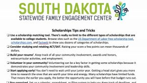 Image of Scholarships Tips and Tricks Resource PDF