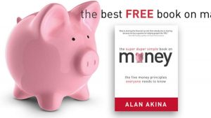 Screenshot of Alan Akina Super Duper Simple Book on Money website